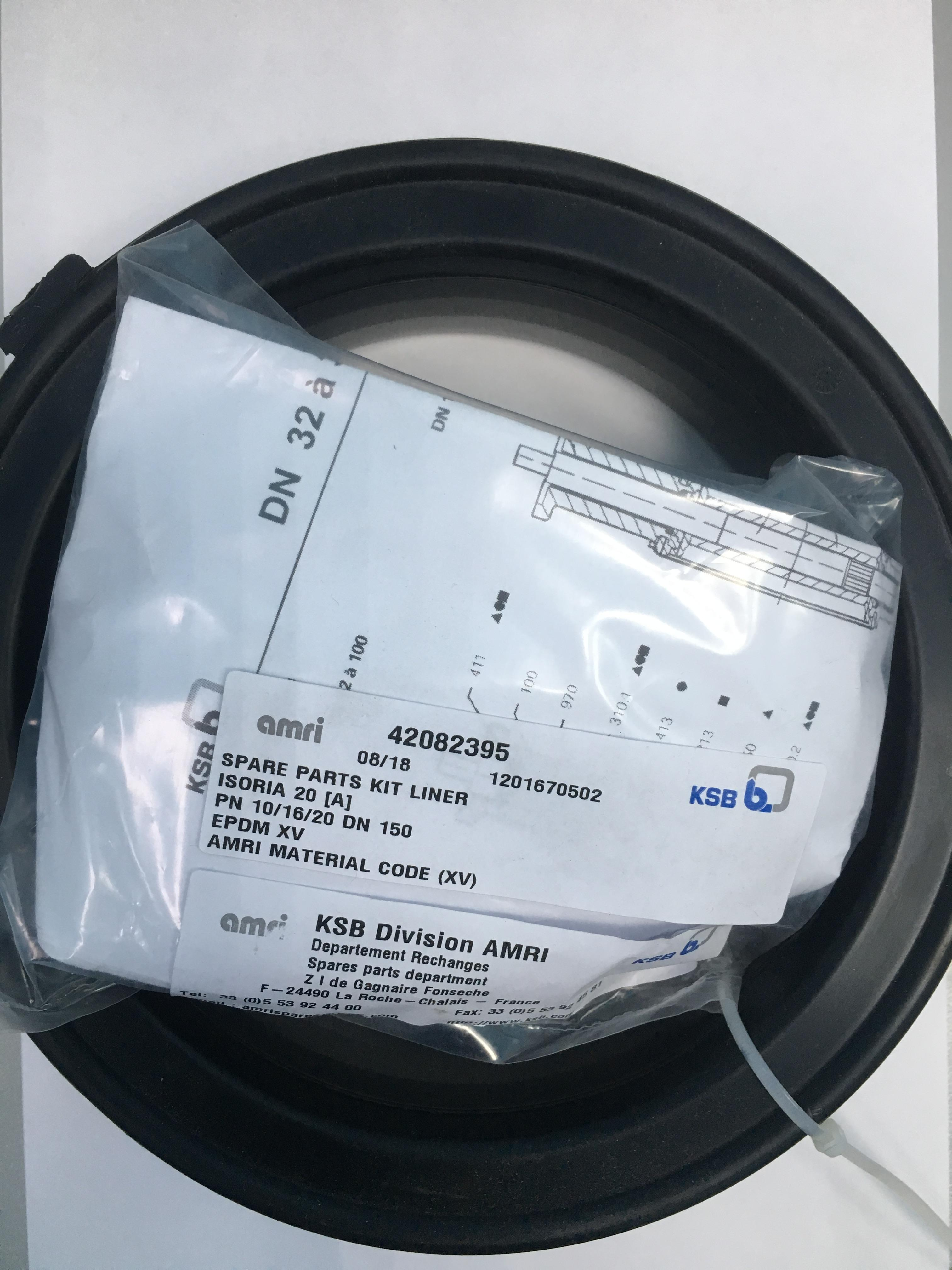 Поз. 05-413 Комплект уплотнения KIT-CUP SEAL I02A-10/16/20 DN 150